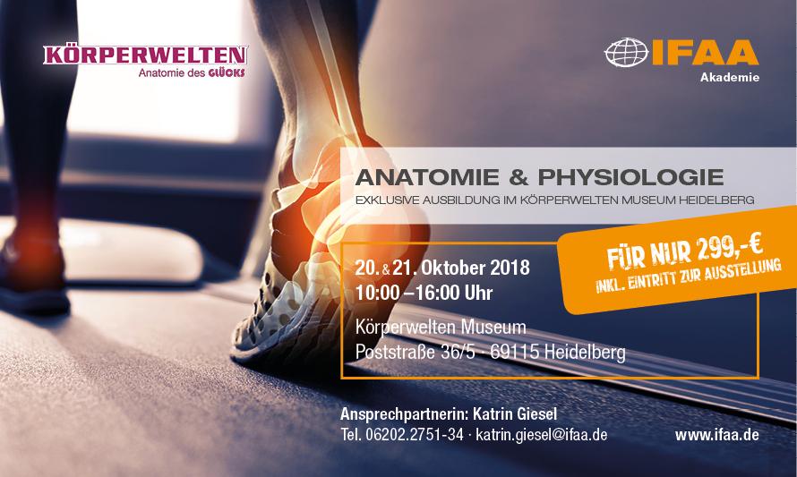 Jetzt in Heidelberg: KÖRPERWELTEN Museum »Anatomie des Glücks«