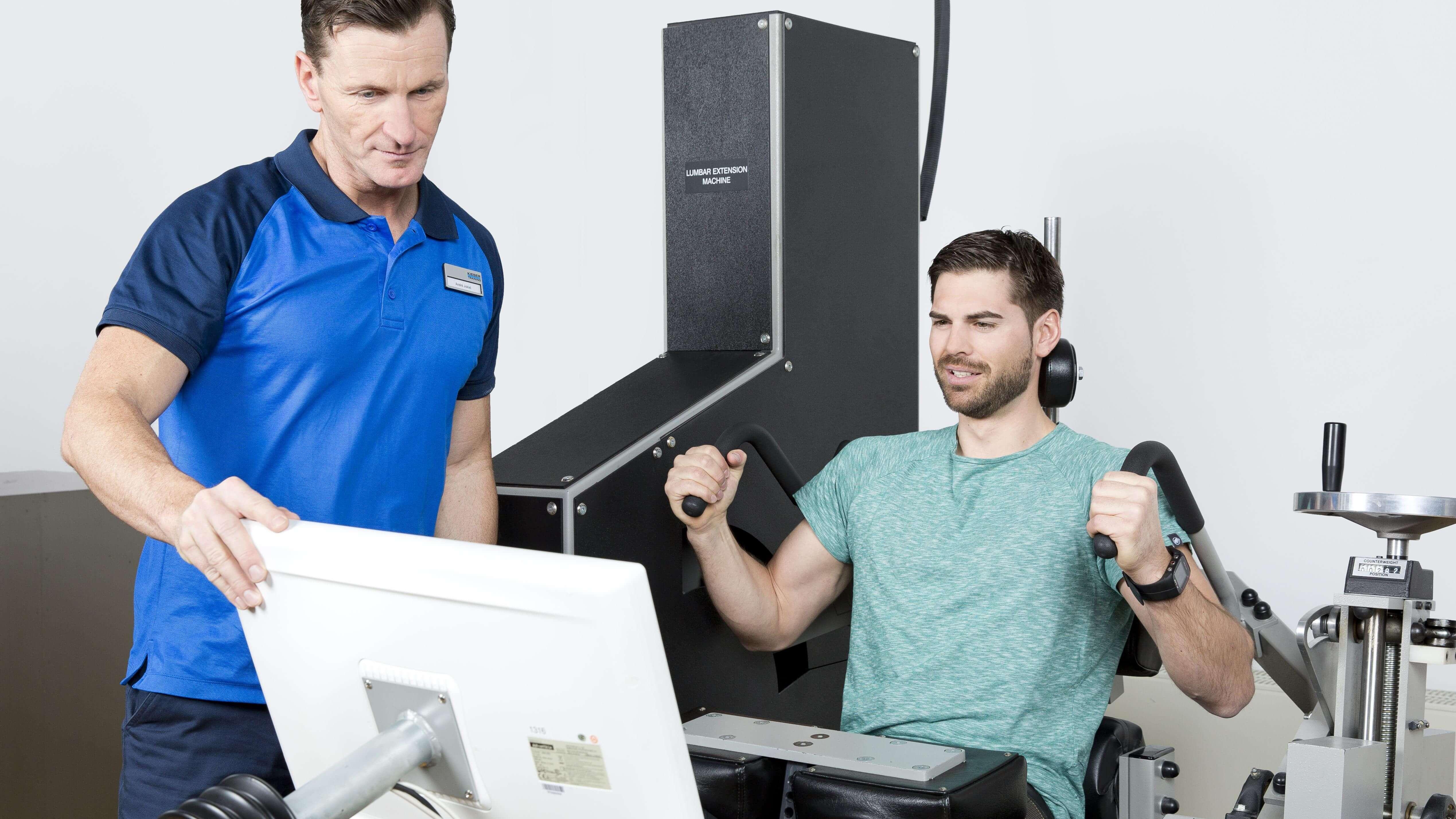 Einführung in die Maschinen Kieser-Training